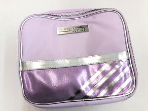 New! Justice Colletion X Girls Lilac Stripe Lunch Tote