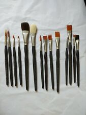 Lot Of 14 New Loew -Cornell Soft Comfort Paint Brushes