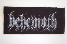 Behemoth Cloth Patch Black Metal Marduk Slayer Satyricon Emperor Bathory (CP232