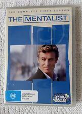 The Mentalist : Season 1 (DVD, 6-Disc Set) R-4, LIKE NEW, FREE POST IN AUSTRALIA