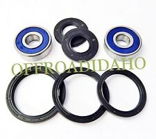 FRONT AXLE WHEEL BEARING SEAL KIT HONDA VF700C MAGNA 700 1984 1985 1986 1987