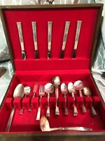 Antique Silverplate Windsong Design by Nobility Lot of 29 Flatware