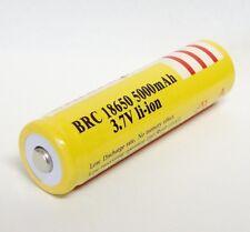 18650 3.7V 5000mAh Batería recargable Li-ion linterna LED SW ANTORCHA FLASHLIGHT