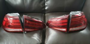 Golf R 2019 tail lamp kit with harness oem