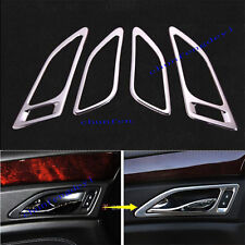 4pcs stainless Door Handle Decorate Frame Trim fit For Cadillac SRX 2012-2016