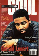 Gerald Levert on Blues & Soul Magazine Cover 1994   Jodeci