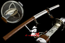 BATTLE READY QUENCHED L6 STEEL WALKING DEAD SWORD RAZOR SHARP BLADE KATANA