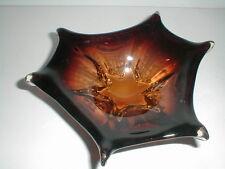 Murano Italian Art Glass Sommerso 6 Pointed STARFISH STAR FISH Bowl