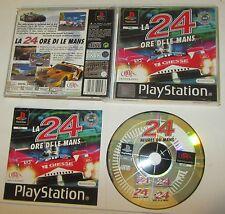La 24 Ore Di Le Mans - Sony Playstation PS1 PSX PAL SPESE GRATIS
