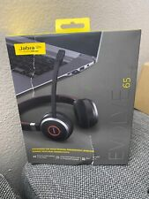 New *Jabra Evolve 65 Ms Stereo (Usb-A) Black Headset