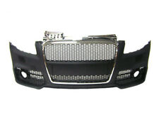 Audi A4 B7 2005-2008 RS4 Style Front Bumper w/ Chrome Front Grille w/ Fog