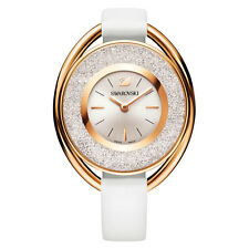 NEW SWAROVSKI LADIES CRYSTALLINE ROSE GOLD WHITE WATCH 5230946 NEXT DAY DELIVERY