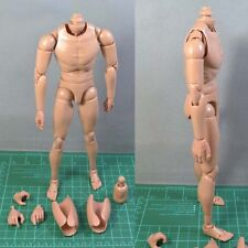 1:6 Scale Narrow Shoulder Action Figure Male Nude Body V.4.0 fits hot toys parts