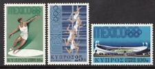 Cyprus MNH 1968 SG324-26 Olympic Games, Mexico