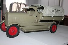 "VINTAGE 1920'S/30'S PRESSED STEEL ""C"" CAB  TURNER ARMY TROOP CARRIER TRUCK"