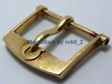 Vintage OMEGA 18K 18ct SOLID YELLOW GOLD 15.5mm Tang PIN Buckle Clasp Hallmarked