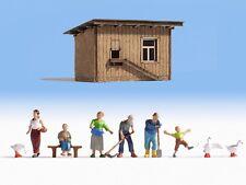 HS Noch 12040 Figurenset  Auf dem Bauernhof in HO