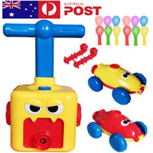 Power Balloon Launch Car Tower Toy Puzzle Fun Education Inertia AirPower Balloon