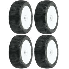 Pro-Line Slide Lock S3 Soft 1:8 Buggy Tires Mounted  V2 White Wheels (4) : F/R