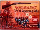 "REMINGTON UMC .22 RIFLE 9"" x 12"" Sign"