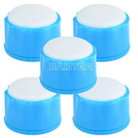 5 Pieces Dental Autoclavable Round Endodontic Stand Cleaning with Sponge Blue
