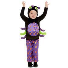Toddler Spider Halloween Fancy Dress Costume Boys Girls Animal Book Week Kids