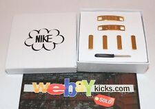 Nike Air Popup Haze Shoe Love Engraved Logo Gold Lace Tips Brand New