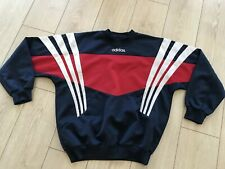 Adidas Old School Vintage Rare Pullover Sweater Men's Size ''M-L/D6''