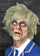 Mens Grey Messy Zombie Wig