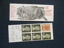 Fh10 Sherlock Holmes Adventures Of Speckled Band £1 Machin Stamp Booklet Umfb44