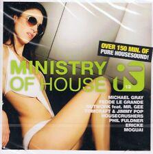 "Ministry of House Vol.12 - 2 CDs NEU - Extended 12"" Phil Fuldner Housecrushers"