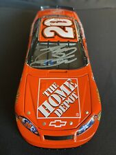 Autographed Tony Stewart Limited Edition 1/24 NASCAR Diecast With Box