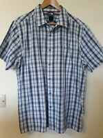 The North Face Checked Shirt Hiking Casual Outdoors Walking Size L