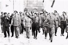 WW2 - LVF - Eugène Deloncle fait visiter caserne Borgnis-Desbordes à Versailles