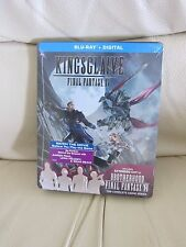 Kingsglaive: Final Fantasy XV Limited Edition Steel Book Blu Ray w/ Brotherhood