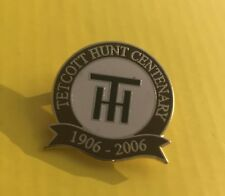 Foxhound caza Esmalte Placa tetcott Hunt-Centenario 1906 - 2006