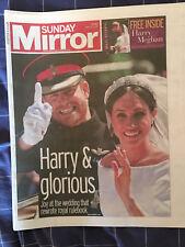 Royal Wedding - Prince Harry & Meghan Markle 20/05 - Newspaper Clippings