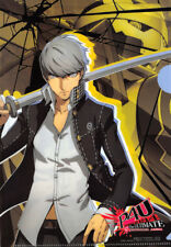 Persona 4 The Ultimate Arena Clear File Folder Yu Hero Dengeki Maoh 2012.6 Bonus