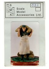 S.M.A SCALE MODEL ACCESSORIES SMA021 - GERMAN COOK CARRYING - 1/35 RESIN KIT