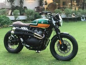 Exhaust for Royal Enfield Interceptor and Continental GT 650 BLACK V.7