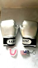 Luniquz Boxing Gloves for Kids+ Mouthguard & Case + Keychain-4oz -NEW