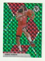 2019-20 Panini Mosaic Prizm Green James Harden Houston Rockets #114