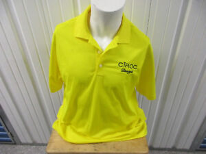 ADIDAS GOLD CLIMALITE CIROC PINEAPPLE LARGE YELLOW POLO SHIRT NEW W/ TAGS DIDDY