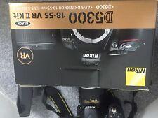 Nikon D D5300 24.2MP Fotocamera Reflex Digitale-Nero (Kit con Obiettivo 18-55mm)