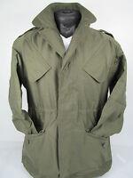 Dutch Army Vintage Military NATO Olive Drab Green Cotton Field Combat Jacket J5
