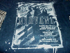 Nirvana / Rolling Stones Shirt ( Used Size L ) Good Condition!