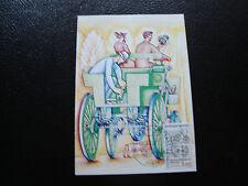 FRANCE - carte 1er jour 6/10/1984 (centenaire automobile) (cy39) french