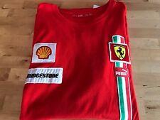 Una vera Puma Scuderia Ferrari t-shirt Da Uomo-XXL