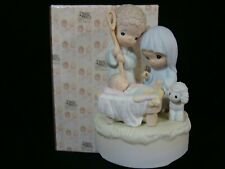 New ListingPrecious Moments-Nativity Scene Music Box *Huge*
