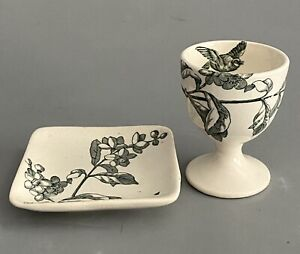 James Gildea Late Mayers No37431 Transferware Egg Cup Butter Pat